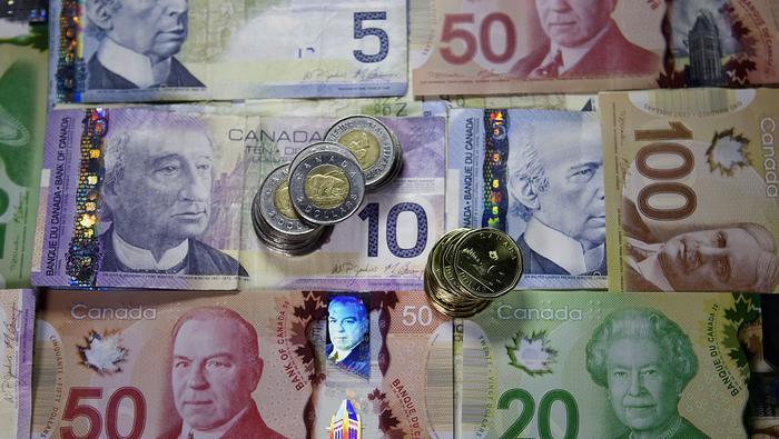 美元/加元在技術面上跌破支撐,可能進一步下跌