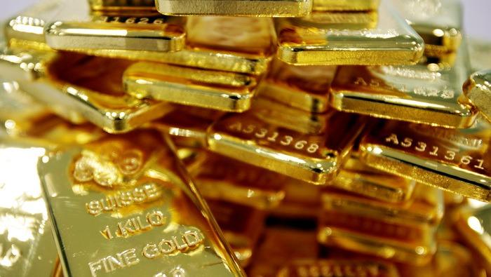 黃金走勢預測:實際收益率繼續下滑,美元被打回原形,金價能殺出重圍嗎?