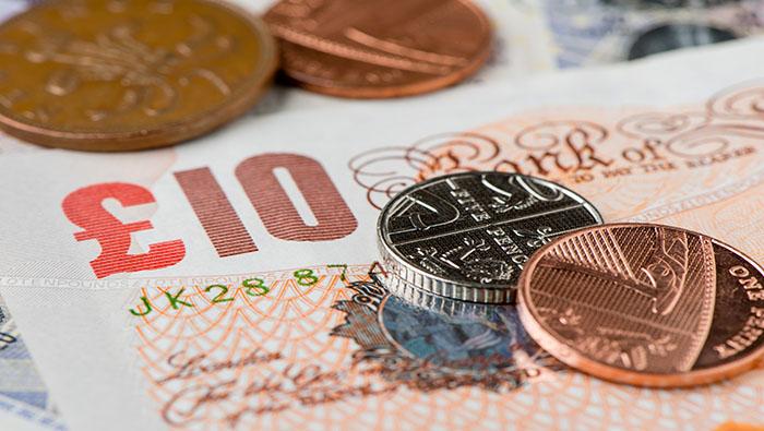 英國就業數據不錯但英鎊不為所動,英國CPI公布前英鎊/美元料繼續區間交易