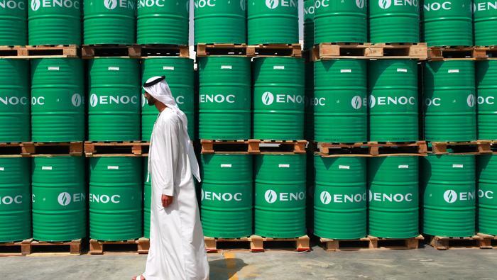 """WTI原油走势:沙特降价引发市场份额争夺担忧,WTI原油""""小双顶""""回落,阶段顶部已成?"""