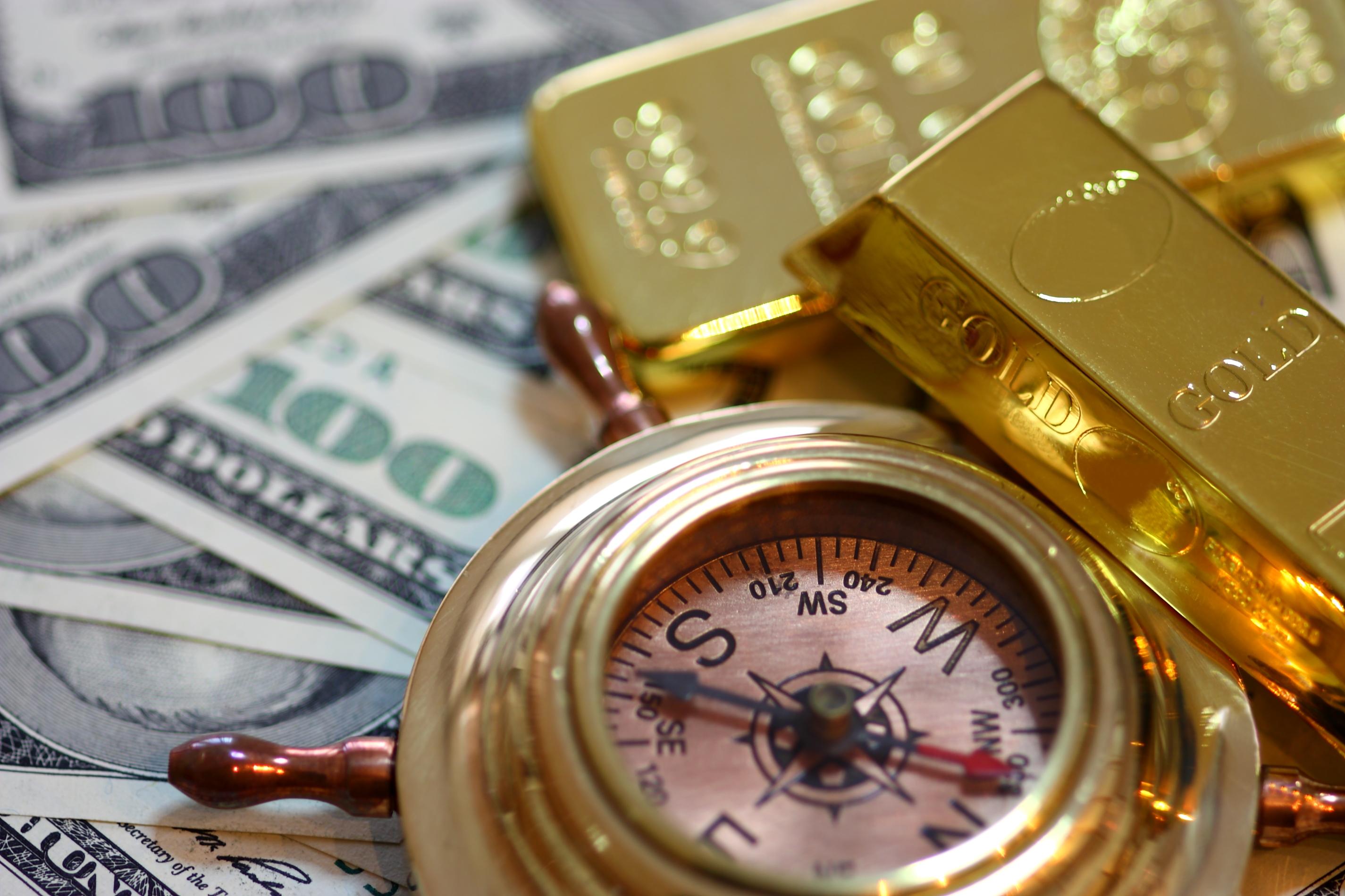 未能借助非农完成突破,美元与股市打压金价,黄金多头转向防守