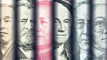 美元全盤大漲,股指大幅震盪