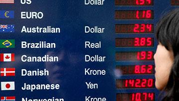 欧元/美元、美元/加元、美元/瑞郎汇率走势分析