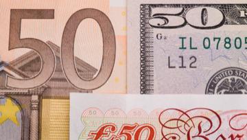 欧元走势分析:欧元/美元将恢复下行,4.6%的跌幅已是胜券在握?