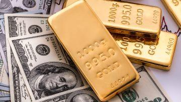 美指反彈重回區間,黃金失守1350回調