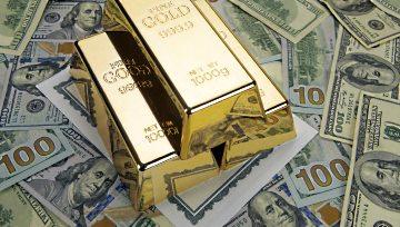 黄金:美元指数继续调整,黄金短线反弹阻力位于1180-82