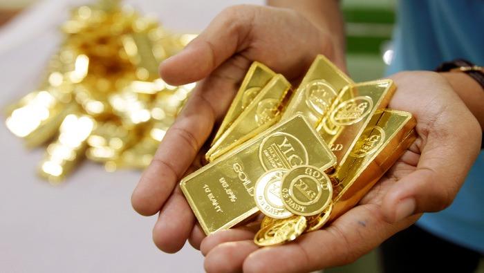本周黄金价格前景预测∶看涨!双重利好下黄金飙涨,熠熠生辉