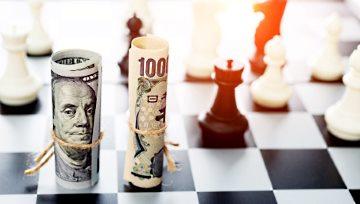 美元/日元周线分析:美元强势走高,剑指今年1月高位